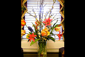 Floral Boquet at Ascension Funerals and Cremations, Hillcrest Road, Mobile, AL