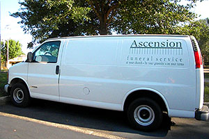 Ascension Van at Hillcrest Rd. Mobile, AL