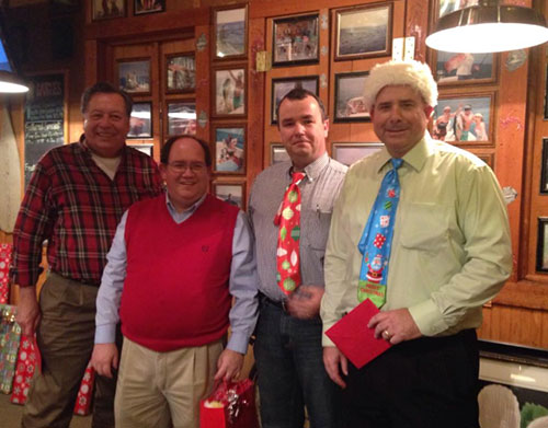 Crazy Ties at Seasonal Memorial Event and Celebration