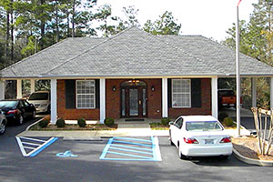 Building Front at Ascension Funerals and Cremations, Mobile AL